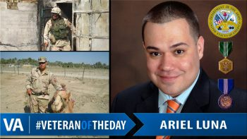 Ariel Luna - Veteran of the Day