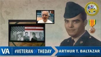 Arthur Baltazar - Veteran of the Day