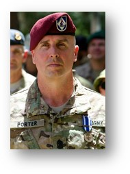 Cameron Porter is the Public Affairs Officer at VA Central California Health Care System. Previously, he served 28 years with the U.S. Army, culminating with his last position as Command Sergeant Major of American Forces Network, Europe.