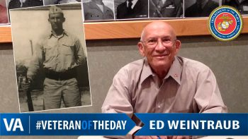 Ed Weintraub - Veteran of the Day
