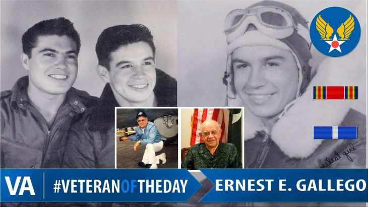 Ernest Gallego - Veteran of the Day