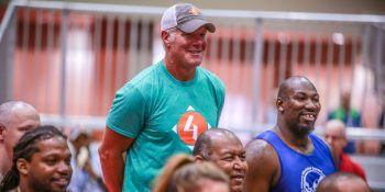 Brett Favre and Veterans