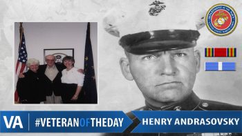 Henry Andrasovsky - Veteran of the Day
