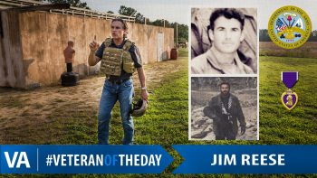 Jim Reese - Veteran of the Day
