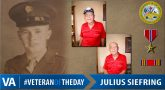 #VeteranOfTheDay Army Veteran Julius J. Siefing