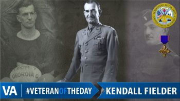 Kendall Fielder - Veteran of the Day