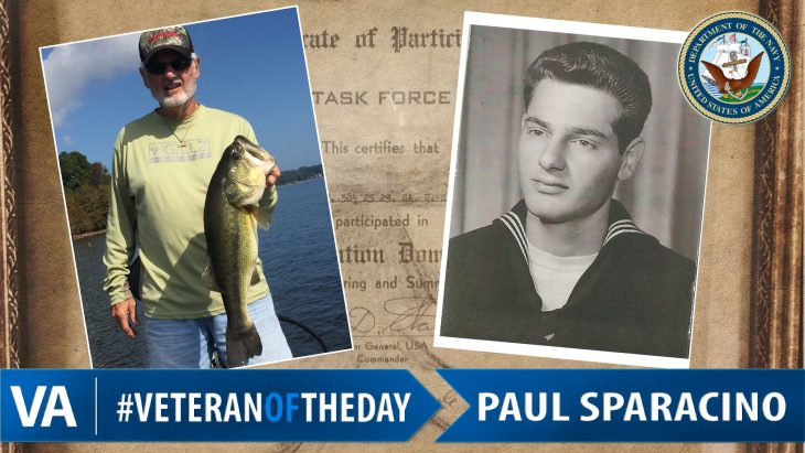 Paul Sparacino - Veteran of the Day