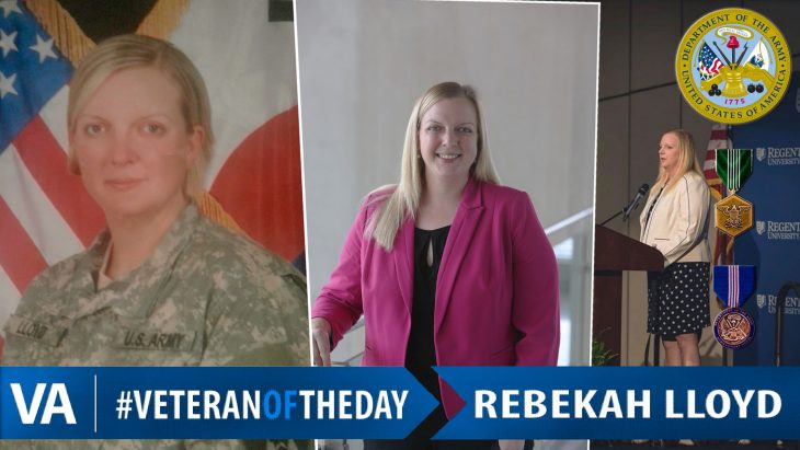 Rebekah Lloyd - Veteran of the Day