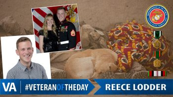 Reece Lodder - Veteran of the Day