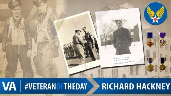 Richard Hackney - Veteran of the Day