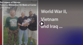 IMAGE: Three generations of Veterans screen capture