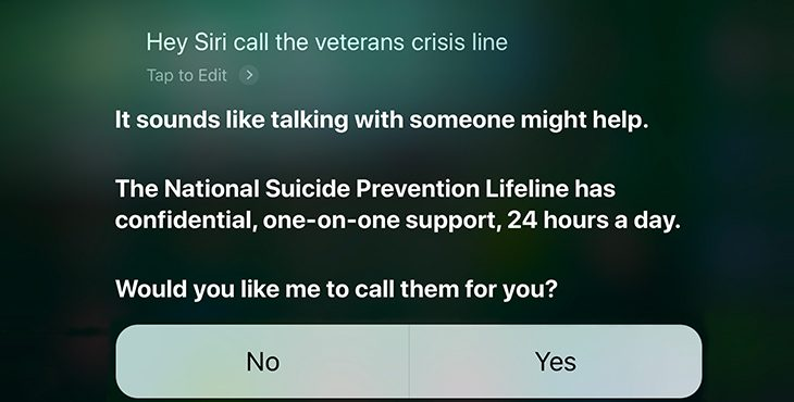 IMAGE: Siri Screen Shot