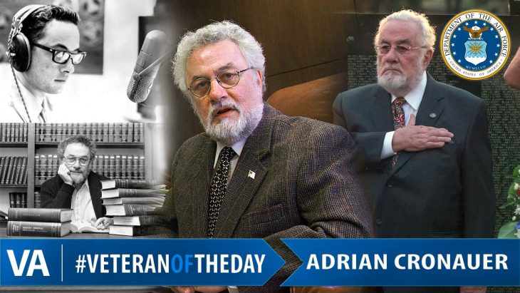 IMAGE: Adrian Cronauer Veteran of the Day graphic