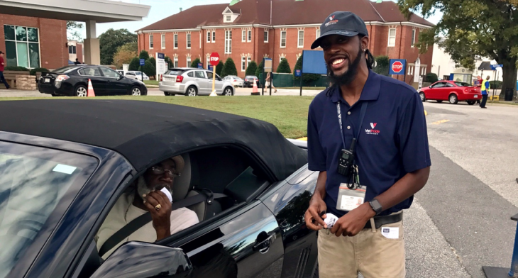 Free valet parking started this year at the Fayetteville VA Health Care Center in North Carolina.