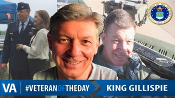 King Gillispie - Veteran of the Day