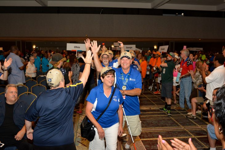 Theme song for National Veterans Golden Age Games urges Veterans to never stop `Going for the Gold'