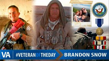 Brandon Snow - Veteran of the Day