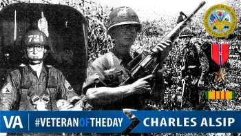 Charles Alsip - Veteran of the Day