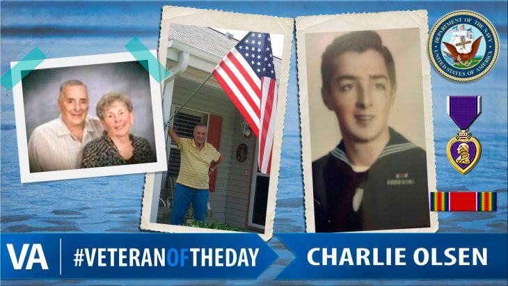 Charlie Olsen - Veteran of the Day