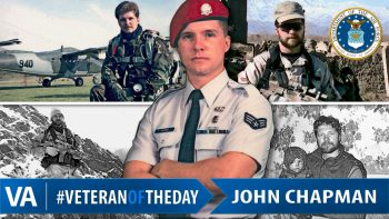 John Chapman - Veteran of the Day
