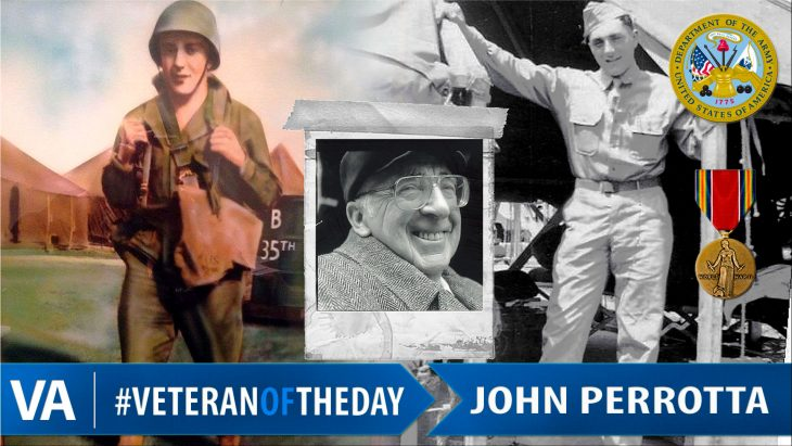 John Perrotta - Veteran of the Day