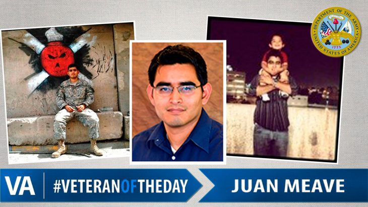 Juan Meave - Veteran of the Day