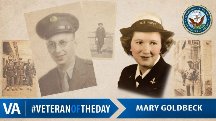 Mary Goldbeck - Veteran of the Day