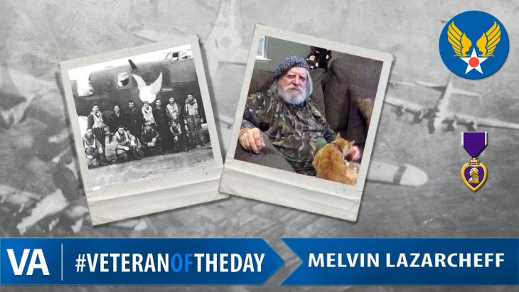 Melvin Lazarcheff - Veteran of the Day