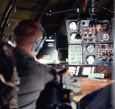 Operator at navigation position