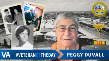 Peggy DuVall - Veteran of the Day