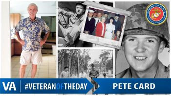 Pete Card - Veteran of the Day
