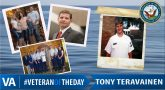 Tony Teravainen - Veteran of the Day