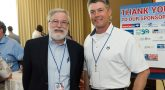 Ben Kaler of the Veterans Experience Office meets with Ray Larsen of the Heart of Florida Mission United