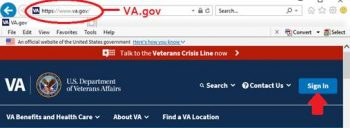 Login to VA.gov