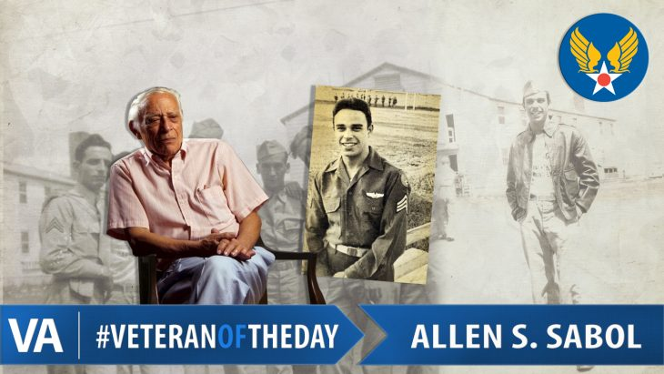 Allen Sabol - Veteran of the Day