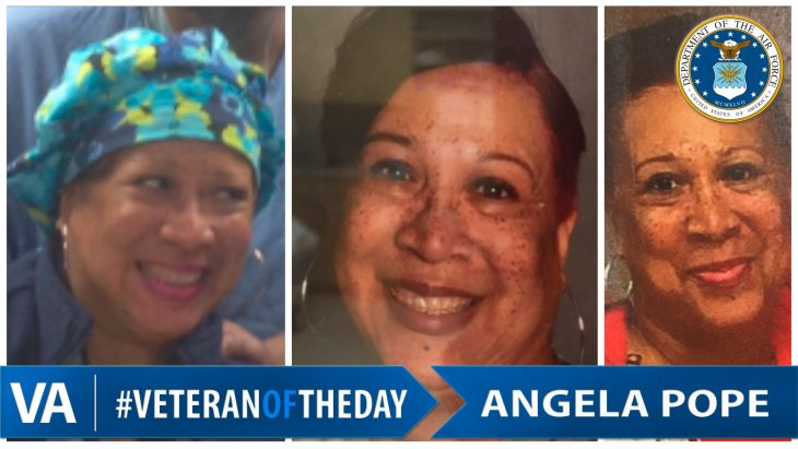 Angela Pope - Veteran of the Day