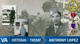 Anthony Lopez - Veteran of the Day