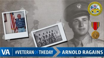 Arnold Ragains - Veteran of the Day