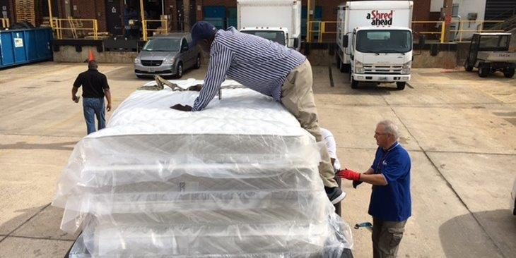 Mattresses given to Vets