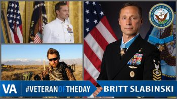 Britt Slabinski - Veteran of the Day