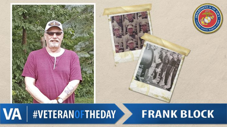 Frank Block - Veteran of the Day
