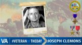 Joseph Clemons - Veteran of the Day