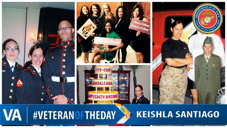 Keishla Santiago - Veteran of the Day