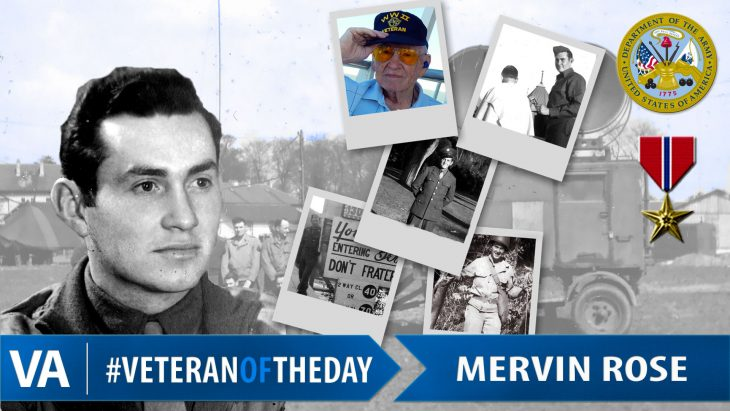 Mervin Rose - Veteran of the Day
