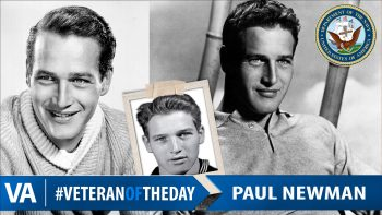 Paul Newman - Veteran of the Day