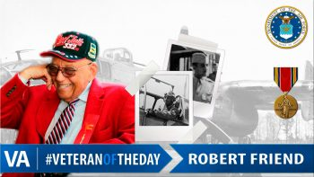 Robert Friend - Veteran of the Day