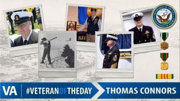 Thomas Connors - Veteran of the Day