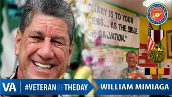William Mimiaga - Veteran of the Day