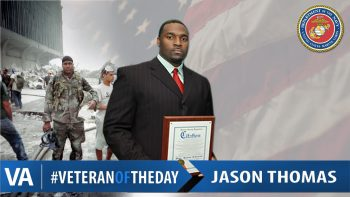 Jason Thomas - Veteran of the Day