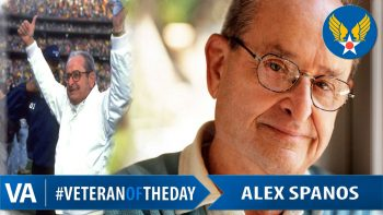 Alex Spanos - Veteran of the Day
